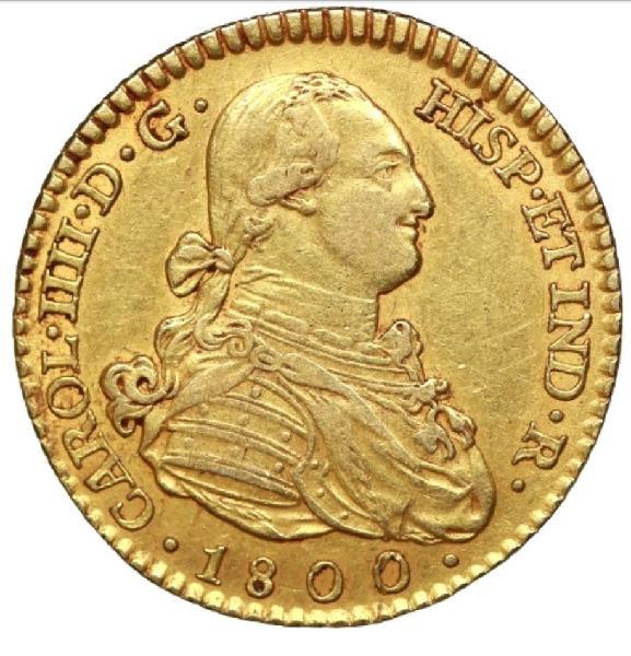 2 escudos 1800 madrid