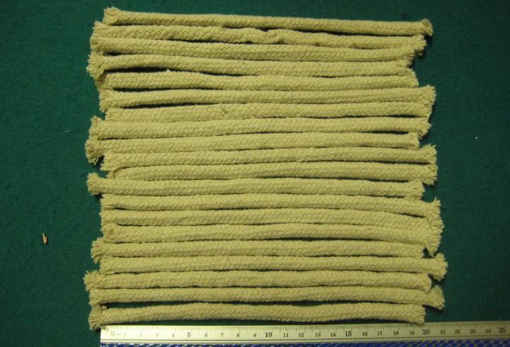 20 mechas de algodón para antorchas