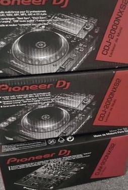 2x pioneer cdj 2000 & djm 900 nexus dj