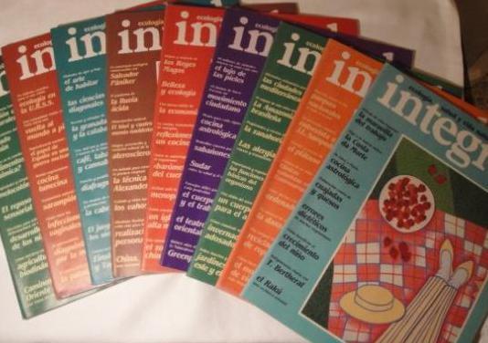 9 revistas integral. nº 59 al 67 inclus