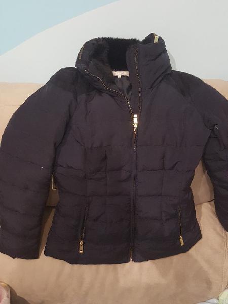 Abrigo plumas azul easy wear corte inglés talla s