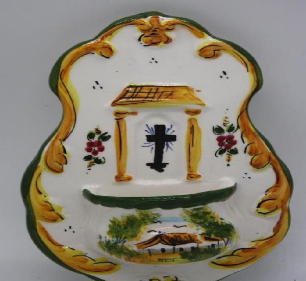 Benditera ceramica vitrificada altura 20 cm anchura 12 cm