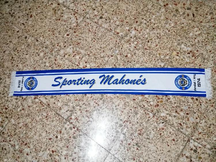 Bufanda sporting mahones