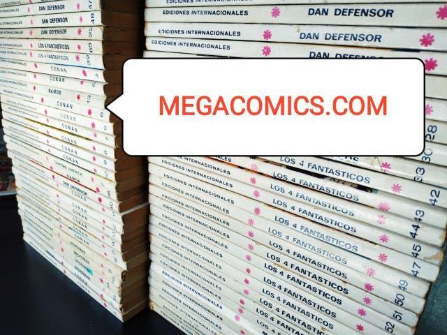 Cambio y venta comics y tebeos megacomics.com