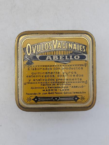 Caja lata farmacia 1924