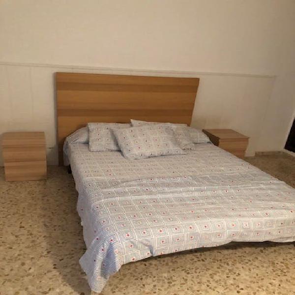 Canapé de láminas y colchón de 135 cm