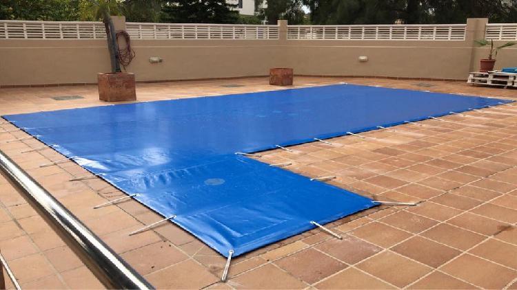 Cubierta piscina a medida