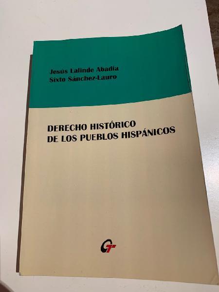 Derecho histórico de los pueblos hispánicos