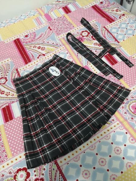 Falda colegios, uniforme 12 años