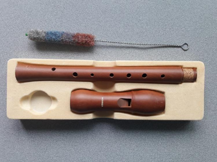 Flauta dulce de madera hohner
