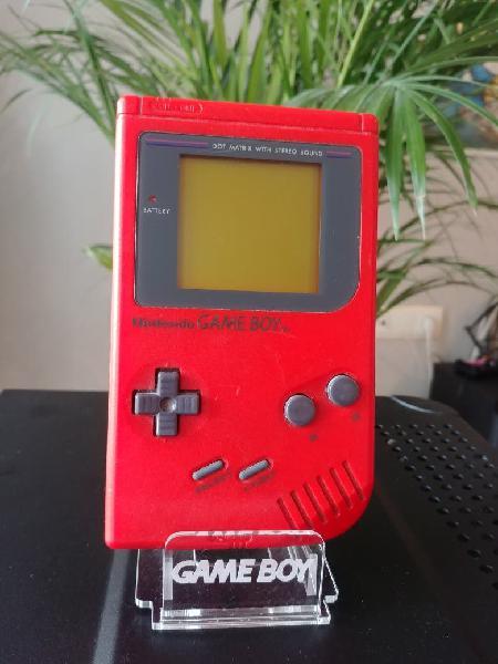 Gameboy clásica roja