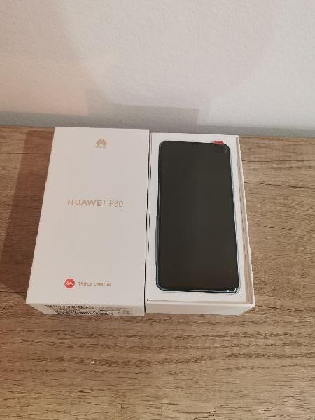 Huawei p30 aurora con precinto