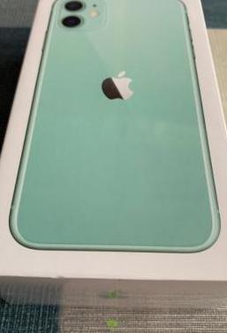 Iphone 11 128gb green, precintado, factura