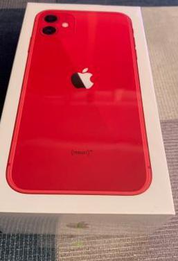 Iphone 11 128gb, product red, precintado, factura