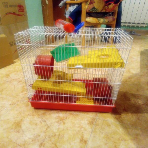 Jaula pequeños roedores