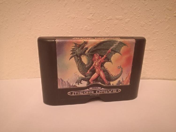 Juego sega mega drive alisia dragoon pal megadrive