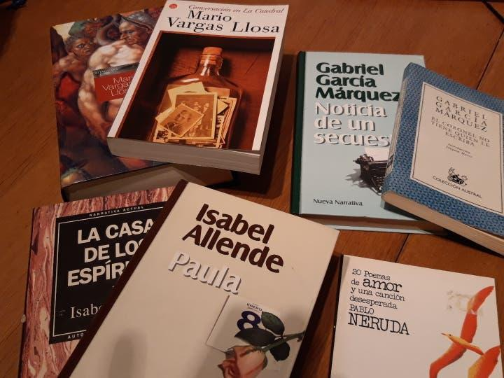 Lote literatura hispanoamericana