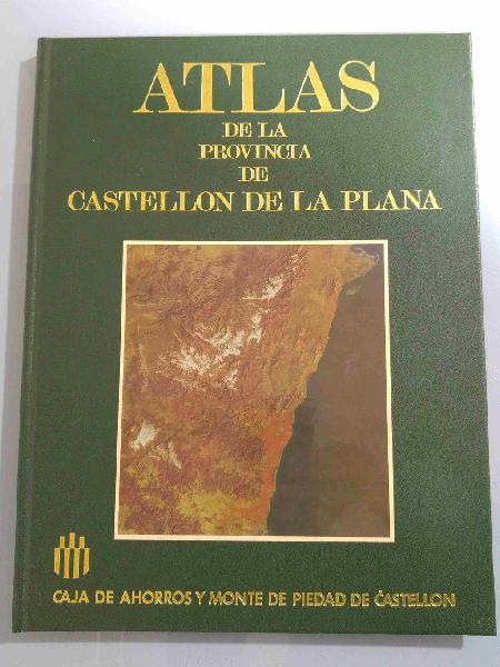 Libro atlas de la provincia de castellón
