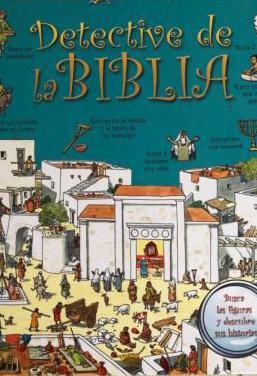 Libro infantil detective de la biblia nuevo