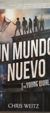 """Libro juvenil """"un nuevo mundo"""""""