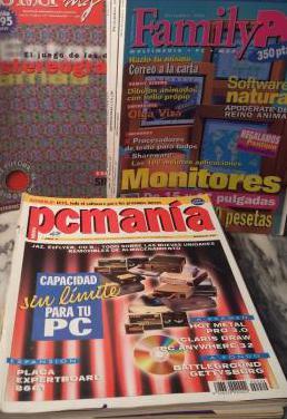 Lote 14 revista informatica 1996-97