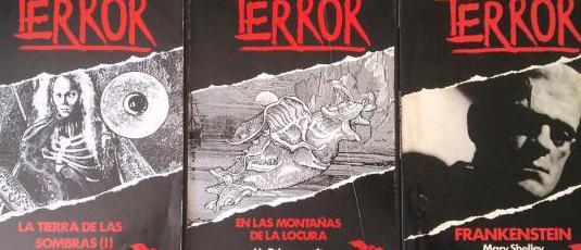 Lote biblioteca del terror