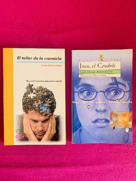 Lote de 3 libros juveniles en valencià