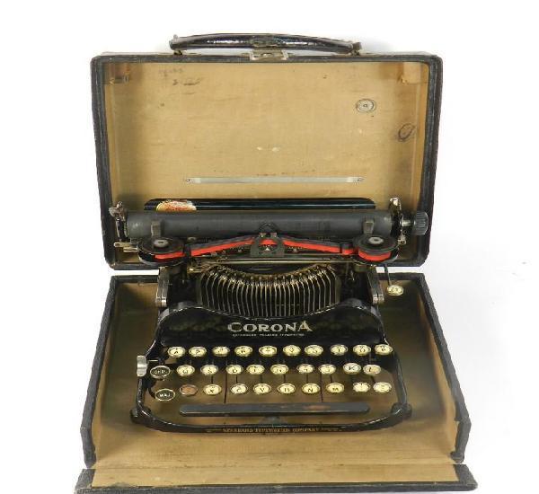 Maquina de escribir corona nº3 año 1917 typewriter