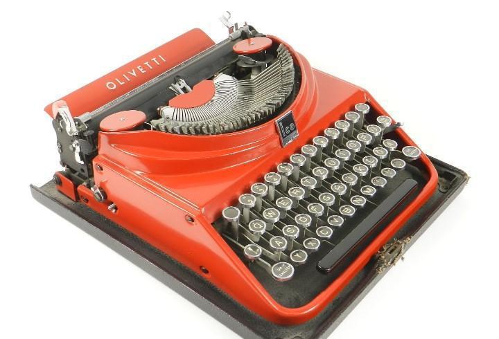 Maquina de escribir olivetti ico mp1 año 1932 typewriter