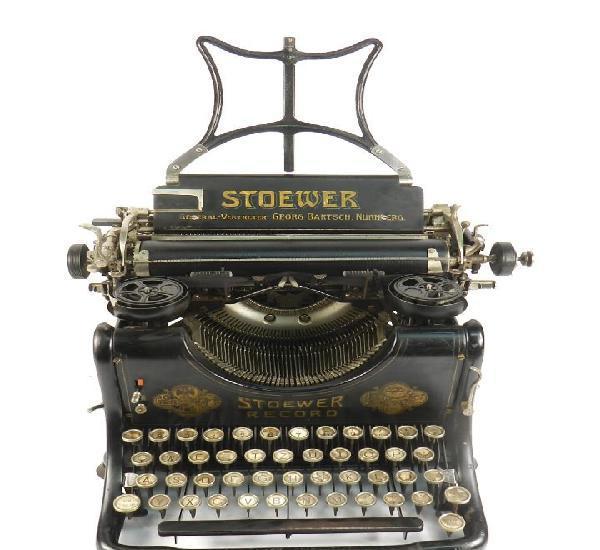 Maquina de escribir stoewer record año 1910 typewriter