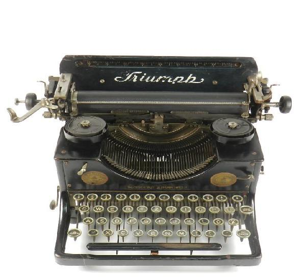 Maquina de escribir triumph nº2 año 1923 typewriter