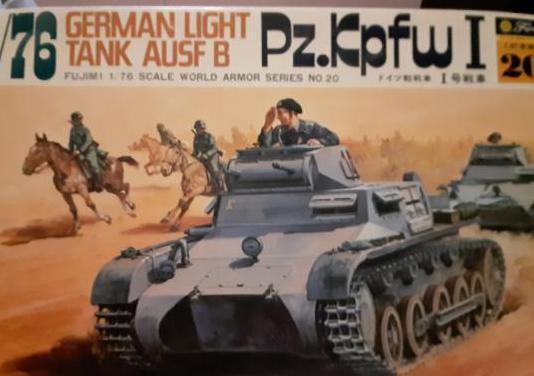 Maqueta tanque pz. kpfw i