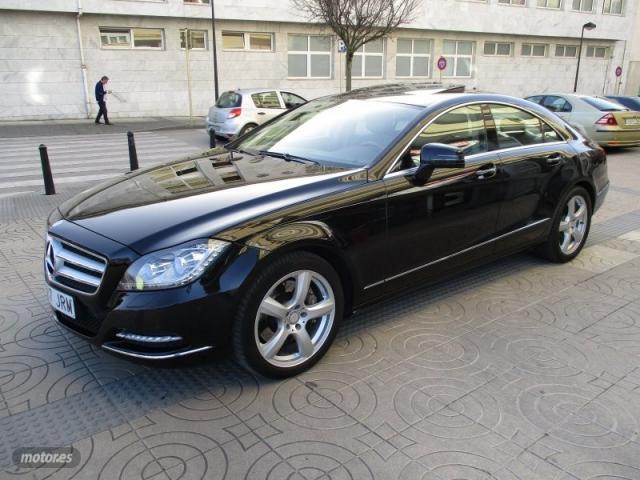 Mercedes clase cls 350 cdi blueefficiency de 2012 con
