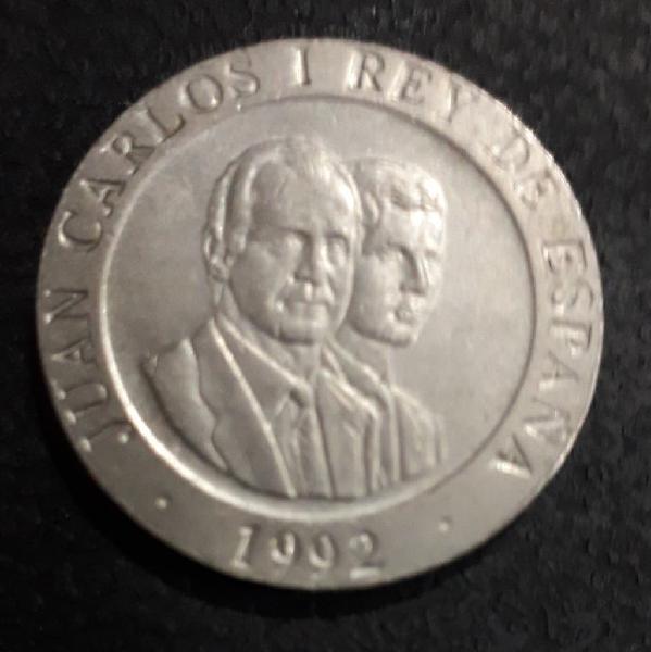 Moneda . 200 pesetas 1992 oso y madroño.