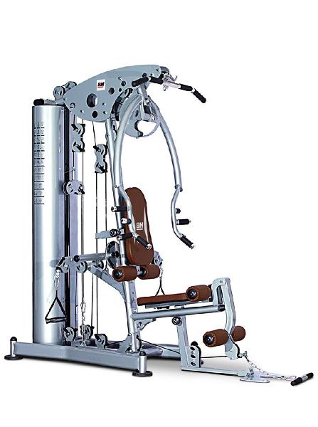 Multiestación bh fitness 80kg impoluta. (factura)