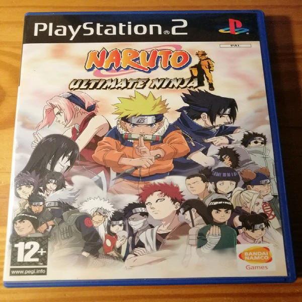 Naruto ultimate ninja ps2 (leer descripción)
