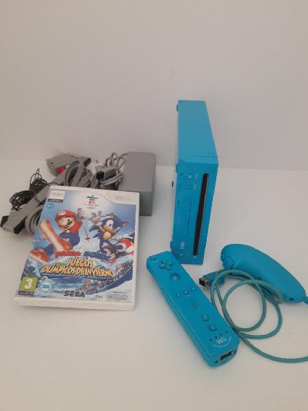 Nintendo wii edicion limitada modelo 101