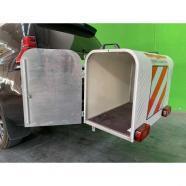 Portaperros aluminio y poliéster