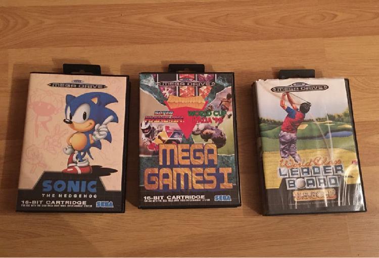 Pack juegos retro mega drive