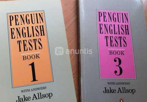 Pack - lote 2 libros de test de ingles