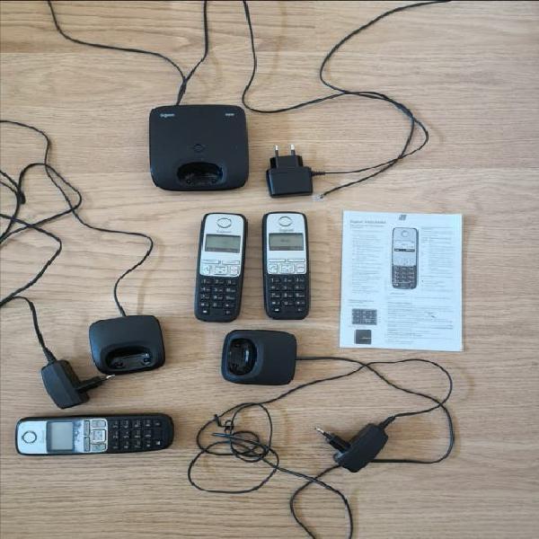 Pack teléfonos inalámbricos gigaset a400