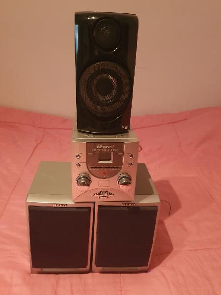 Radio cd nevir +3 altavoces