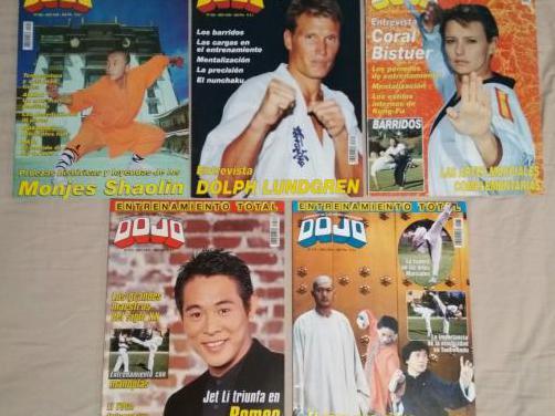 Revistas dojo (artes marciales) (1999-2001)