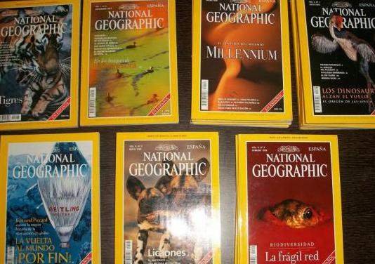 Revistas national geographic (1997-98-99) lote