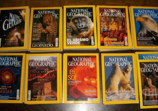 Revistas national geographic (lote de 60)