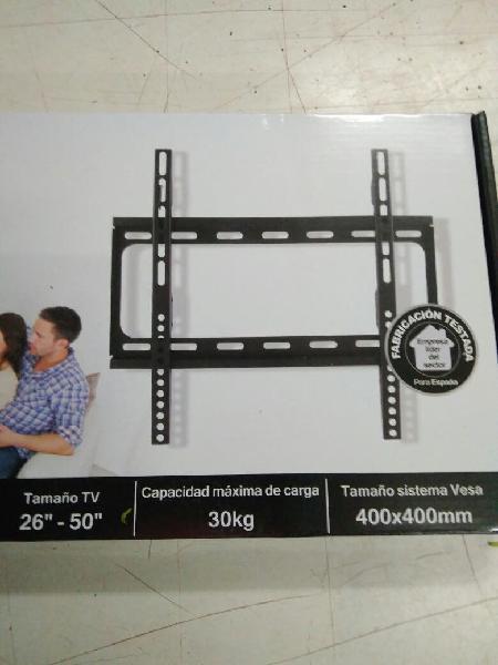 """Soporte tv fijo 26""""-50"""" 400x400mm mural televisión"""