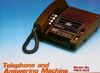 Teléfono con contestador automático