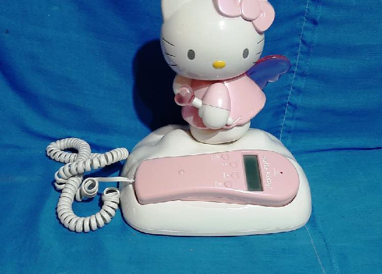 Teléfono fijo hello kitty
