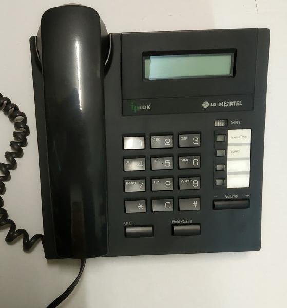 Teléfono fijo y centralita lg nortel ldp 7004 d