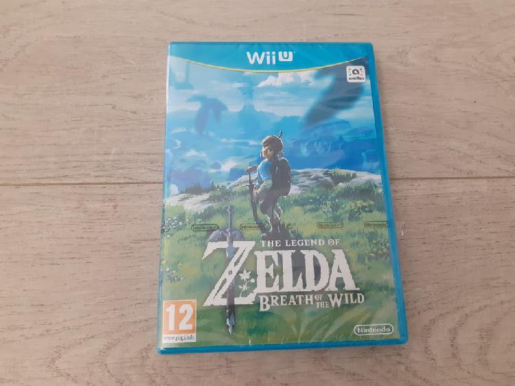 Zelda breath of the wild nintendo wii u precintado